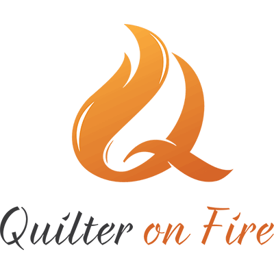 Quilter on Fire - website design
